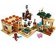 Конструктор Minecraft 11477 My World Патруль Разбойников 580 Деталей, фото 2