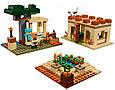Конструктор Minecraft 11477 My World Патруль Разбойников 580 Деталей, фото 4
