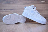 Nike Air Force 1 LV8 High (белые) ЗИМА cas, фото 3