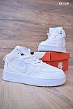 Nike Air Force 1 LV8 High (белые) ЗИМА cas, фото 5