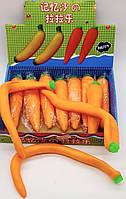 Антистресс Морковка тянучка