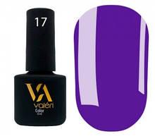 Гель-лак Valeri №017 (фиолетовый, эмаль), 6 мл