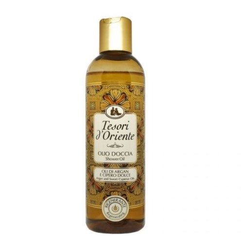 Tesori d´Oriente масло для душа argan and sweet cyperus oils 250 мл