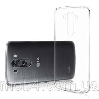 Прозорий силіконовий чохол для LG G 3