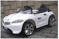Дитячий електромобіль на акумуляторі Cabrio B3 (Білий) з пультом управління ( г ), фото 1