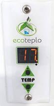 Инфракрасный керамический обогреватель ECOTEPLO AIR ME 400 Вт (белый мрамор), фото 3