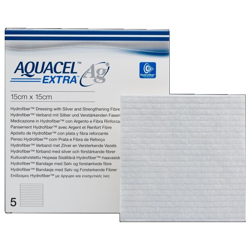 Aquacel (Аквасель) Extra AG 15х15см - Повязка с серебром
