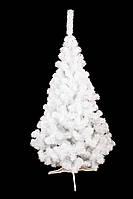 Елка искусственная Лесная Белая 150 см. Ялинка ПВХ + подставка, фото 1