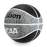 Мяч баскетбольный Wilson NCAA Battleground 285 size 7 (WTB2501XB07), фото 2