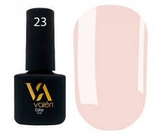 Гель-лак Valeri №023 (розово-бежевый, эмаль), 6 мл