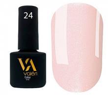 Гель-лак Valeri №024 (нежно-розовый, микроблеск), 6 мл