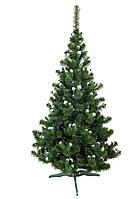 Искусственная елка Карпатская с белыми кончиками 220 см + подставка, фото 1