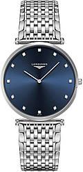 Часы наручные женские LA GRANDE CLASSIQUE DE LONGINES L4.766.4.97.6 кварцевые, 12 бриллиантов