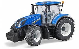 Игрушка Bruder трактор New Holland T7315 1:16  (03120)