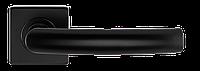 S-1101 BLACK РУЧКА ДЛЯ ДВЕРЕЙ НА РОЗЕТЦІ, фото 1