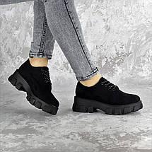 Туфли женские Fashion Chomper 2340 36 размер 23,5 см Черный, фото 2