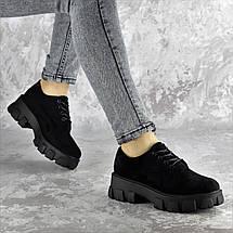 Туфли женские Fashion Chomper 2340 36 размер 23,5 см Черный, фото 3