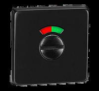 T12I BLACK НАКЛАДКА ПІД WC з індикатором