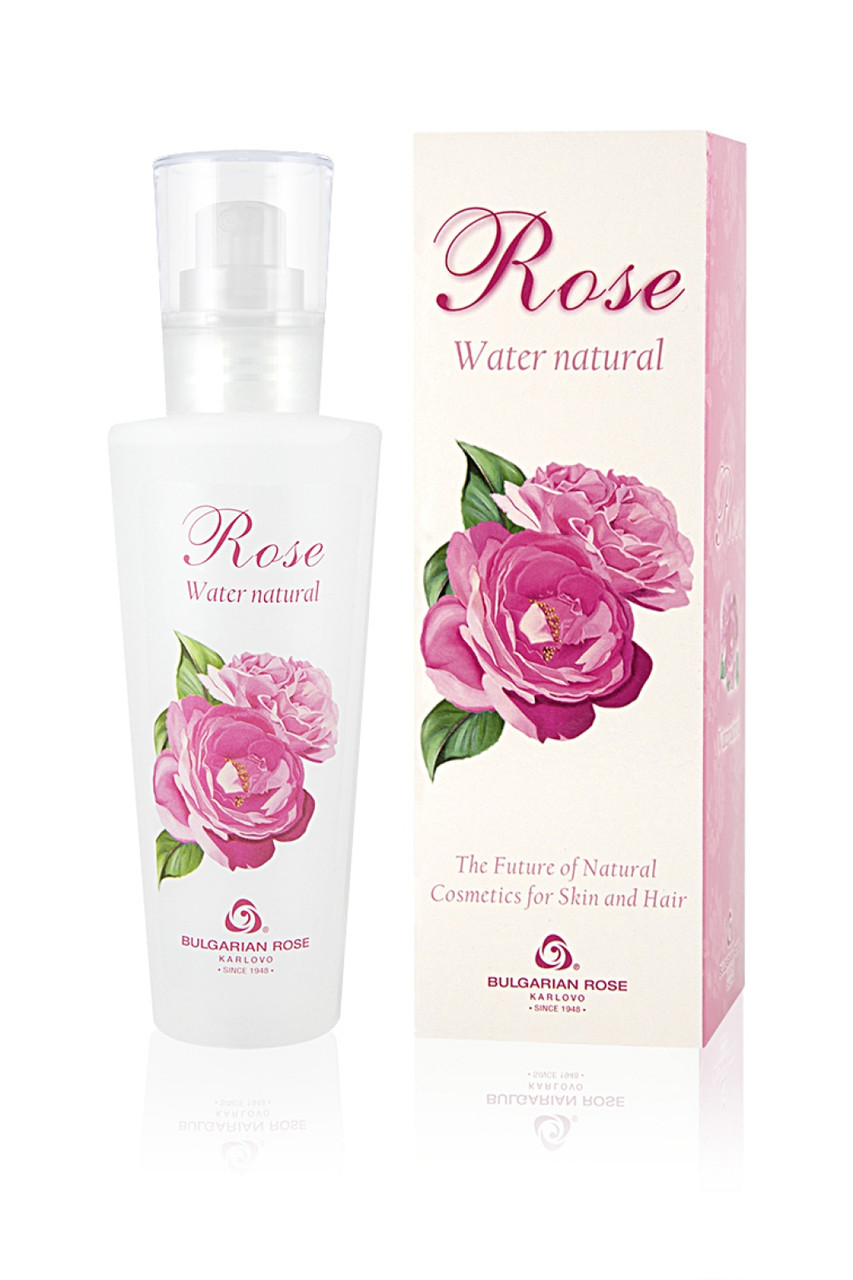 Розовая вода натуральная Гидролат Розы от  Bulgarian Rose 160 мл