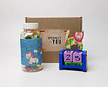 """Подарочный набор """"Единорог и кот"""": вечный календарь """"Кот"""" и конфетки в баночке """"Для исполнения желаний"""", фото 2"""