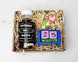 """Подарочный набор """"Сладкие времена"""": вечный календарь """"Кот"""" и конфетки в баночке """"Сладкая жизнь на все 100"""", фото 2"""