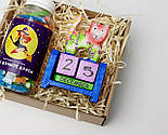 """Подарочный набор """"Останови время и молодость"""": вечный календарь """"Кот"""", конфетки в баночке """"Для вечной красоты"""", фото 4"""