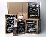 """Набор для мужчины """"Jack Daniel's"""" № 5 (Джек Дениелс): мини-виски, конфеты, печенье, чай, открытка, фото 2"""