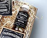 """Набор для мужчины """"Jack Daniel's"""" №4 (Джек Дениелс): конфеты, печенье, чай, открытка, фото 8"""