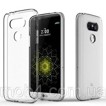 Силиконовый прозрачный чехол для LG G 5