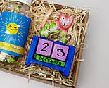 """Подарочный набор """"Позитив во всем"""": вечный календарь """"Кот"""" и конфетки в баночке """"Позитивин"""", фото 8"""