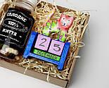 """Подарочный набор """"Сладкие времена"""": вечный календарь """"Кот"""" и конфетки в баночке """"Сладкая жизнь на все 100"""", фото 6"""