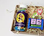 """Подарочный набор """"Останови время и молодость"""": вечный календарь """"Кот"""", конфетки в баночке """"Для вечной красоты"""", фото 3"""