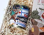 """Новогодний подарок: шоколад """"З Новим роком і Різдвом!"""" и Консервированные носки новогодние (в ассортименте), фото 5"""