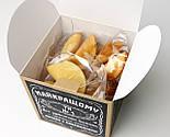 """Набор для мужчины """"Jack Daniel's"""" № 5 (Джек Дениелс): мини-виски, конфеты, печенье, чай, открытка, фото 5"""