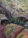 "Картина маслом ""Лісова стежка в Карпатах"", живопис 40*50, фото 3"