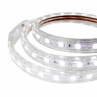 Герметичная Светодиодная LED лента белая 220V-5050-60 IP67 Led Strip-6000К White