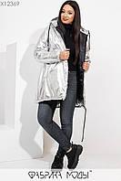 Зимняя куртка женская батал р.50-64 Фабрика Моды XL