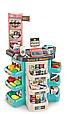 Детский супермаркет 47 предметов 668-86 Корзинка для покупок, подсветка, реалистичные звуки сканера, весы, фото 2