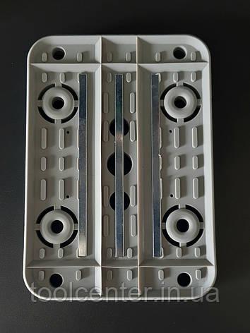 Нижняя резиновая накладка 160×115 Schmalz, фото 2