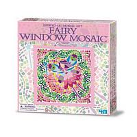 ✅ Набір для творчості 4M Мозаїка на вікно (в асортименті (Фея/Русалка/Принцеса) (00-04565)