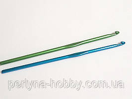 Гачок для в'язання плетіння алюмінієвий. Крючок для вязания № 2