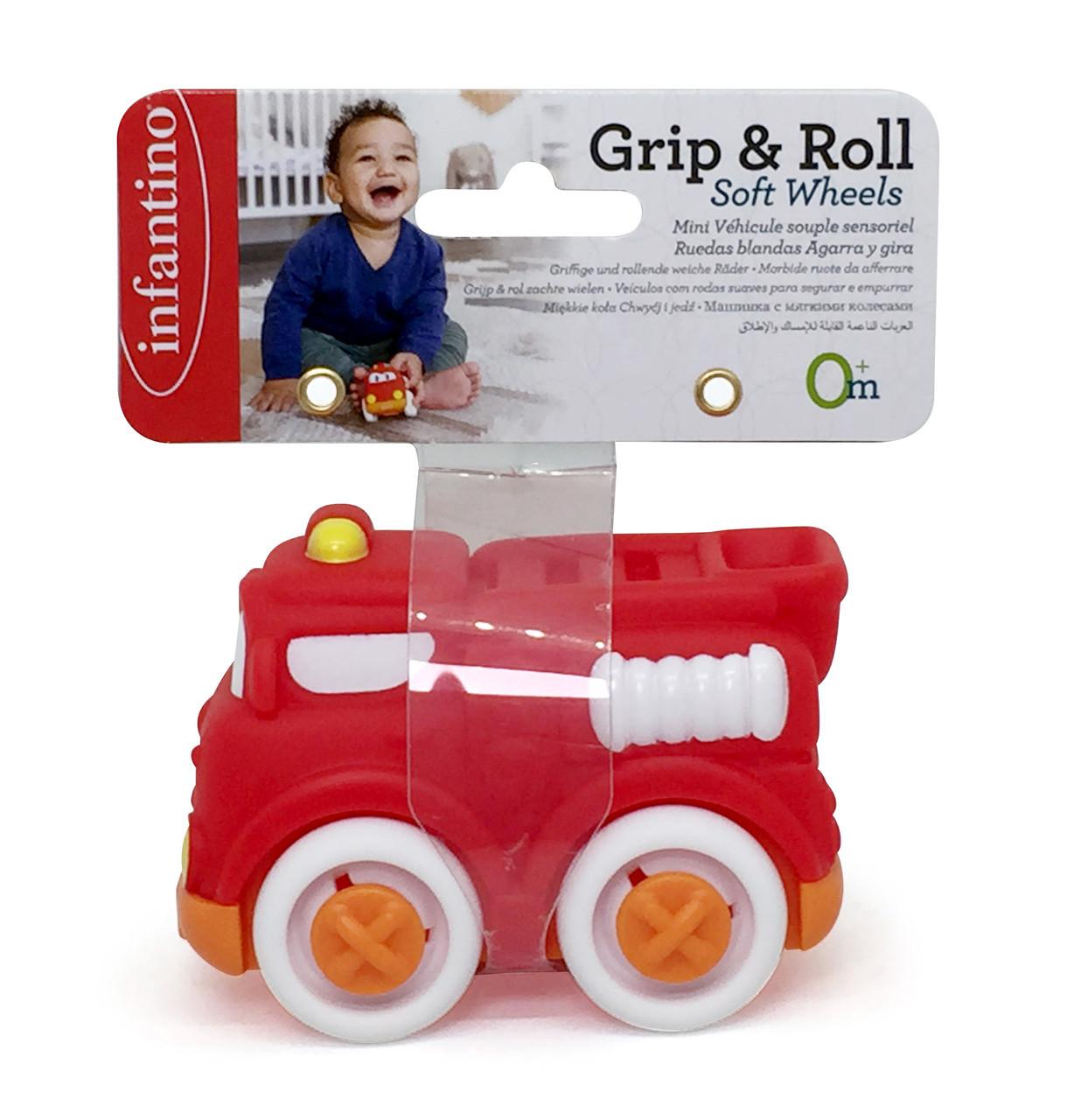Игрушка машинка маленький автопарк пожарная машина красная (310247I)