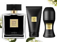 Парфюмерный набор Avon Little Black Dress из 3 х единиц - Эйвон Чёрное платье
