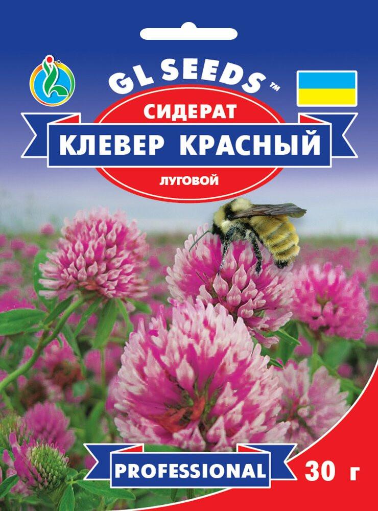 Семена Клевера красного декоратиного (30г), Professional, TM GL Seeds