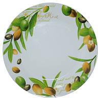 """Тарілка """"Оливки"""" кераміка (20 см), фото 1"""
