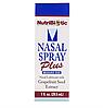 Спрей для носа (NutriBiotic Nasal Spray Plus), 30 мл