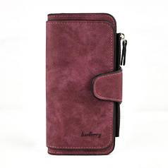 Женский кошелек портмоне Baellerry N2345 Burgundy