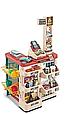 Дитячий супермаркет 48 предметів 668-84 Кошик, касовий апарат, підсвічування, музика і звуки сканера, фото 2