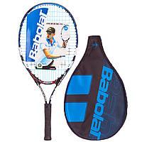 Професійна тенісна ракетка для великого тенісу дитяча БАБОЛАТ BABOLAT JUNIOR125 ( СПО140107-146)