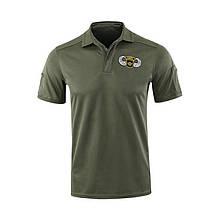 Тактическая футболка с коротким рукавом Lesko A817 S Green